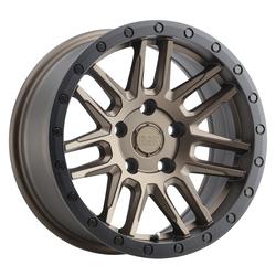 Black Rhino Wheels Arches - Bronze W/Black Lip Edge & Black Bolts Rim - 19x8