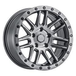 Black Rhino Wheels Arches - Matte Gunmetal W/Black Lip Edge & Black Bolts Rim - 19x8