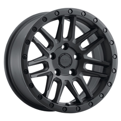 Black Rhino Wheels Arches - Semi Gloss Black Rim