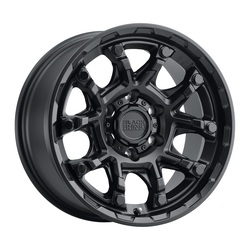 Black Rhino Wheels Ark - Matte Black W/Gloss Black Bolt Rim - 17x8.5