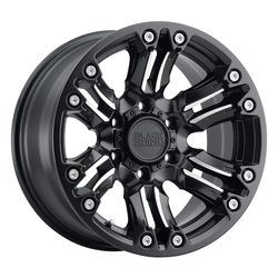 Black Rhino Wheels Asagai - Matte Black W/Machined Spoke & Stainless Bolts Rim - 17x8.5