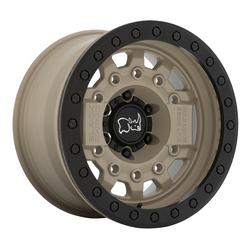 Black Rhino Wheels Avenger - Desert Sand with Black Hardware Rim