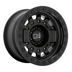 Black Rhino Wheels Avenger - Matte Black with Black Hardware Rim