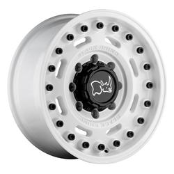 Black Rhino Wheels Axle - Gloss White Rim - 20x9.5