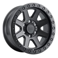 Black Rhino Wheels Baker - Matte Black Rim - 17x8.5