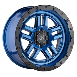 Black Rhino Wheels Barstow - Dearborn Blue W/Black Lip Edge Rim