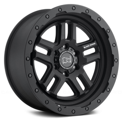 Black Rhino Wheels Barstow - Textured Matte Black - 20x9.5