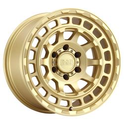 Black Rhino Wheels Chamber - Chamber Gold Rim - 17x8.5