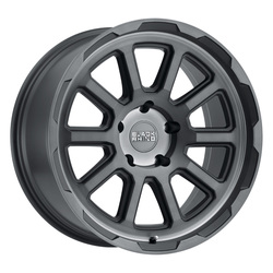 Black Rhino Wheels Chase - Brushed Gunmetal Rim - 17x8.5