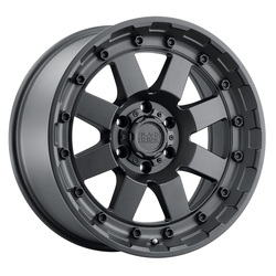 Black Rhino Wheels Cleghorn - Matte Black Rim - 17x8.5