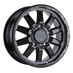 Black Rhino Wheels Excursion - Matte Black Rim - 17x7.5