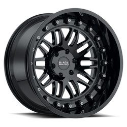 Black Rhino Wheels Fury - Gloss Black - 20x9.5