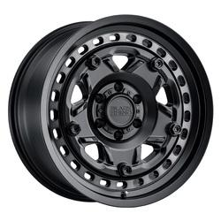 Black Rhino Wheels Grange - Matte Black W/Machined Tint Ring Rim - 17x8.5