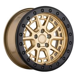 Black Rhino Wheels Gravel - Gold w/Black Ring and Bolts Rim