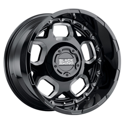 Black Rhino Wheels Gusset - Gloss Black