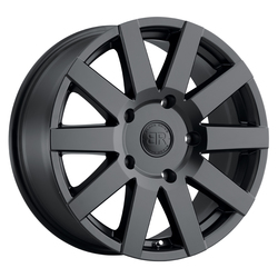 Black Rhino Wheels Journey - Matte Black