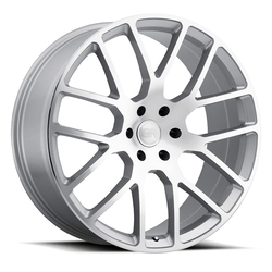 Black Rhino Wheels Kunene - Silver with Mirror Cut Face Rim - 24x10