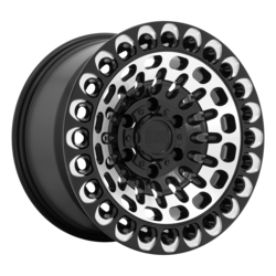 Black Rhino Wheels Labyrinth - Gloss Black Machined Face & Milling Rim