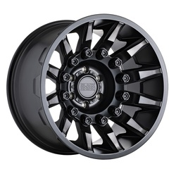 Black Rhino Wheels Mission - Matte Black W/Machined Tinted Spokes Rim