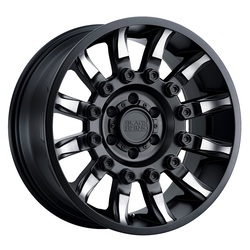 Black Rhino Wheels Mission - Matte Black W/Machined Tinted Spokes Rim - 17x8.5