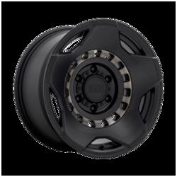 Black Rhino Wheels Muzzle - Matte Black Machined Tinted Ring Rim