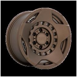 Black Rhino Wheels Muzzle - Matte Bronze Rim