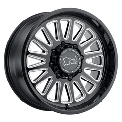 Black Rhino Wheels Ocala - Gloss Black with Milled Spoke