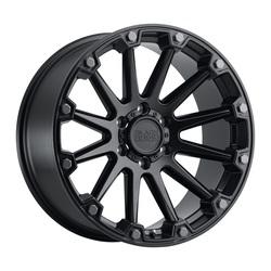 Black Rhino Wheels Pinnacle - Semi Gloss Black W/Gunmetal Bolts Rim - 17x8.5