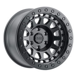 Black Rhino Wheels Primm Beadlock - Matte Black W/Black Bolts - 17x8.5