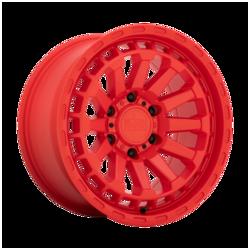 Black Rhino Wheels Raid - Matte Red Rim - 17x8.5