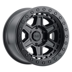 Black Rhino Wheels Reno Beadlock - Matte Black W/Black Bolt Rim
