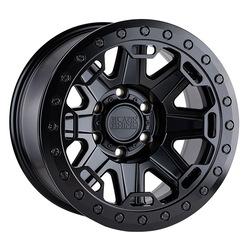 Black Rhino Wheels Rift Beadlock - Matte Black W/Black Bolts Rim