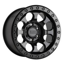 Black Rhino Wheels Riot - Matte Black w/ Black Bolts RF Rim - 17x8.5