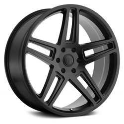 Black Rhino Wheels Safari - Matte Black - 24x10