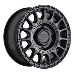 Black Rhino Wheels Sandstorm UTV - Semi Gloss Black w/ Machined Tint Ring Rim