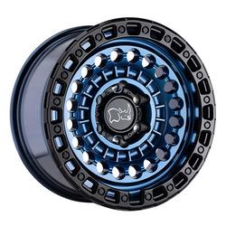 Black Rhino Wheels Sentinel - Cobalt Blue w/ Black Lip Edge Rim