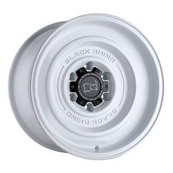 Black Rhino Wheels Solid - Gloss White Rim - 17x9.5