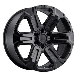 Black Rhino Wheels Wanaka - Matte Black Rim - 17x8.5