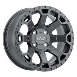 Black Rhino Wheels Warlord UTV - Matte Gunmetal Rim - 14x7