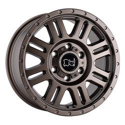 Black Rhino Wheels Yellowstone - Matte Bronze Rim - 16x8