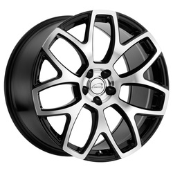 Coventry Wheels Coventry Wheels Ashford - Gloss Black with Mirror Cut Face
