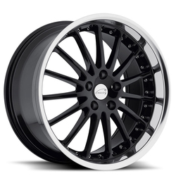 Coventry Wheels Coventry Wheels Whitley - Gloss Black with Mirror Cut Lip