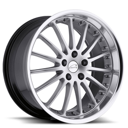 Coventry Wheels Coventry Wheels Whitley - Hyper Silver with Mirror Cut Lip