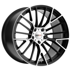 Cray Wheels Astoria - Gloss Black with Mirror Cut Face - 20x11