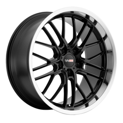 Cray Wheels Eagle - Gloss Black with Mirror Lip Rim