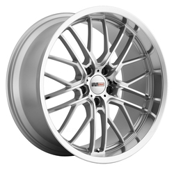 Cray Wheels Eagle - Silver with Mirror Cut Face and Lip Rim - 19x10.5