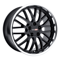 Cray Wheels Manta - Gloss Black with Mirror Cut Lip Rim