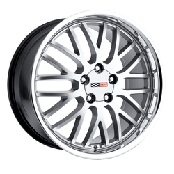 Cray Wheels Manta - Hyper Silver with Mirror Cut Lip - 18x10.5