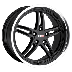 Cray Wheels Scorpion - Gloss Black with Mirror Cut Lip
