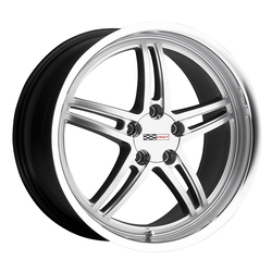 Cray Wheels Scorpion - Hyper Silver with Mirror Cut Lip - 18x10.5